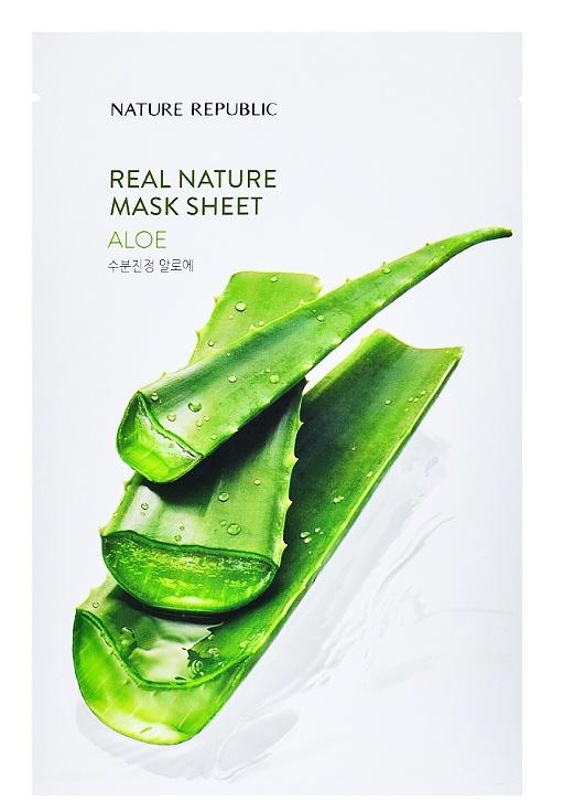 Nature Republic Real Nature Mask Sheet Aloe
