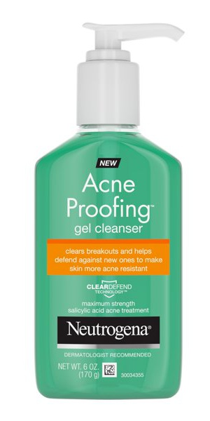 Neutrogena Acne Proofing Gel Cleanser