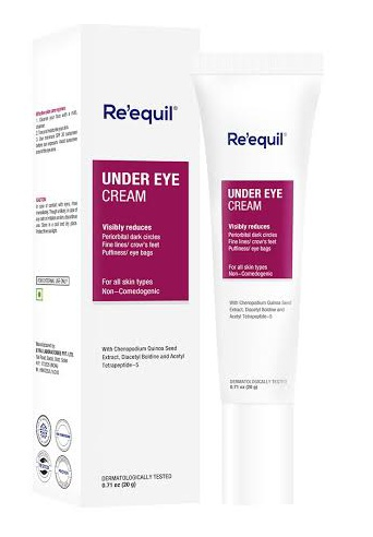Re'equil Under Eye Cream For Dark Circles, Wrinkles, Puffy Eyes