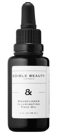 Edible Beauty Snowflower Illuminating Face Oil