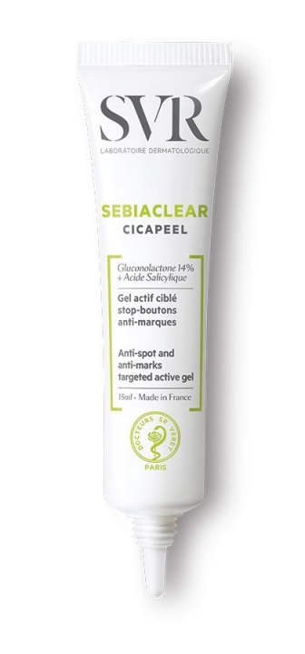 SVR Sebiaclear Cicapeel Anti-Spot Anti-Marks 24H Targeted Active Gel