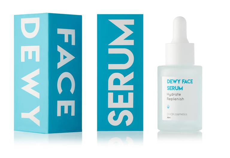 Chick Cosmetics Dewy Face Serum 2% HA + B5
