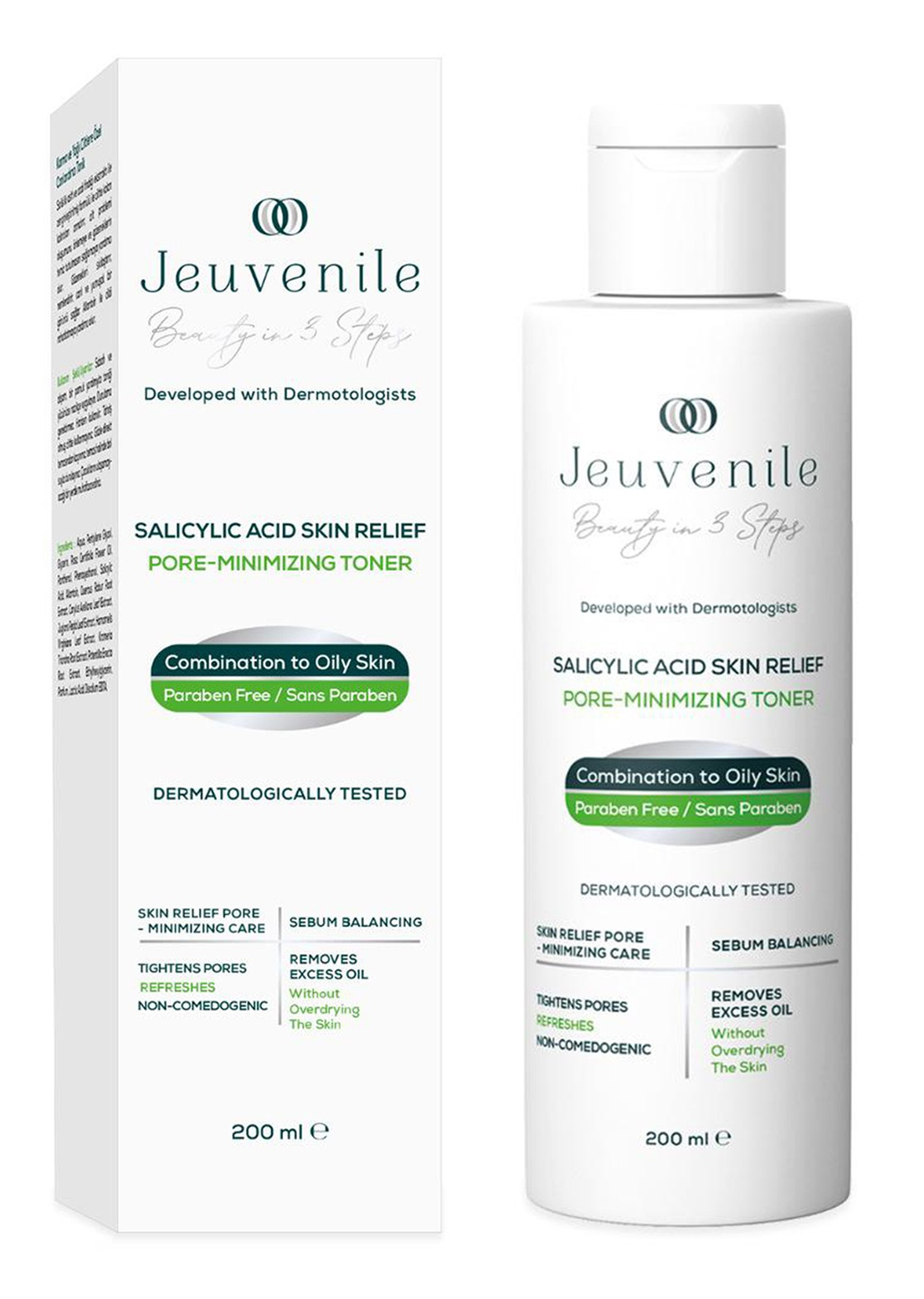 Jeuvenile Salicylic Acid Skin Relief Pore Minimizing Toner