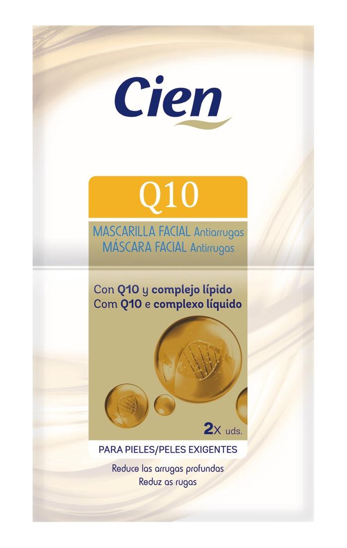 Cien Mascarilla Facial Q10
