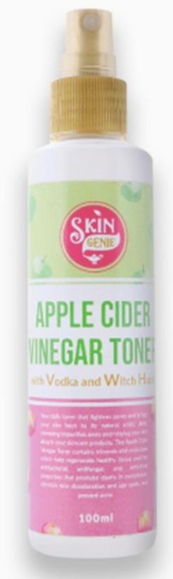 Skin Genie Apple Cider Vinegar Toner  Vodka and Witch Hazel