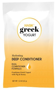 Greek Yogurt by Hask Honey And Fig Hydrating Deep Conditioner Hair Mask