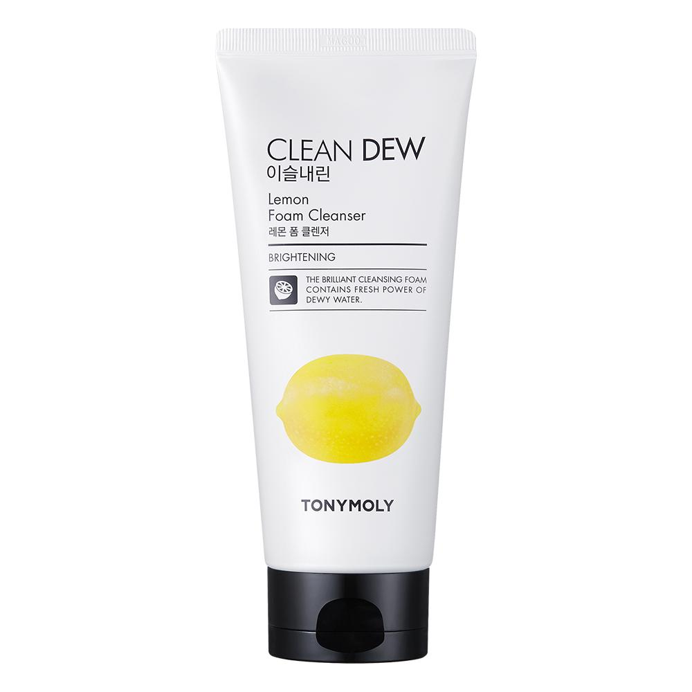 TonyMoly Clean Dew Foam Cleanser (Lemon)