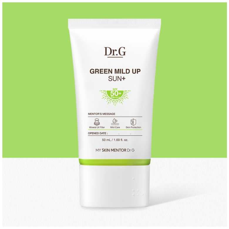 Dr. G Green Mild Up Sun+ SPF 50+ Pa++++ (2021)