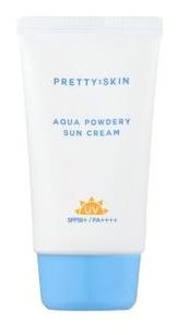Pretty Skin Aqua Powdery Sun Cream