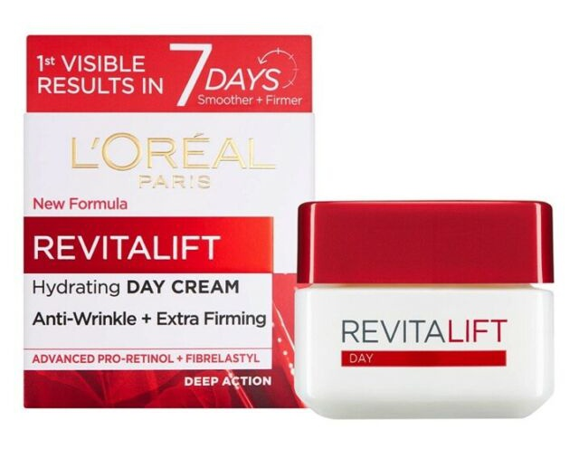 L'Oreal Revitalift Hydrating Cream Day - Anti-Wrinkle + Extra Firming