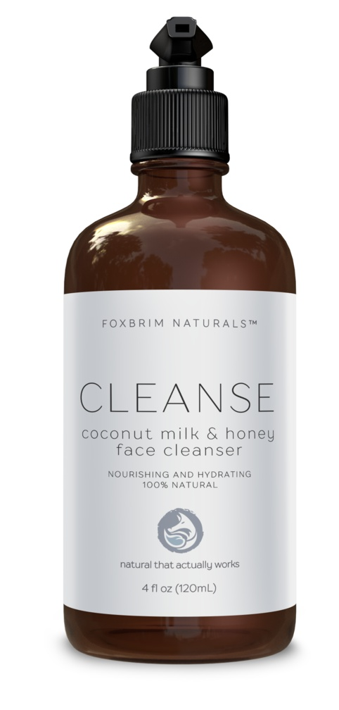 Foxbrim Coconut Milk & Honey Face Cleanser