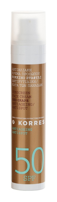 Korres Red Grape SPF50 Anti Ageing Sunscreen