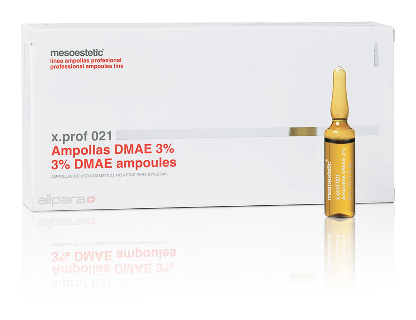 Mesoestetic X.Prof 021. 3% Dmae Ampoules