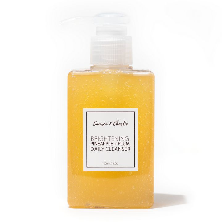 Sampson and Charlie Brightening Pineapple B3+Bha Daily Facial Cleanser