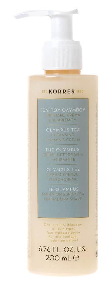 Korres Olympus Tea Cleansing Foaming Cream