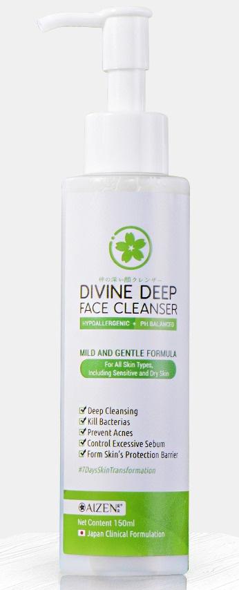 Aizen Divine Deep Facial Cleanser
