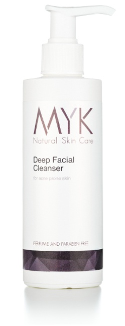 MYK Natural Skincare Deep Facial Cleanser