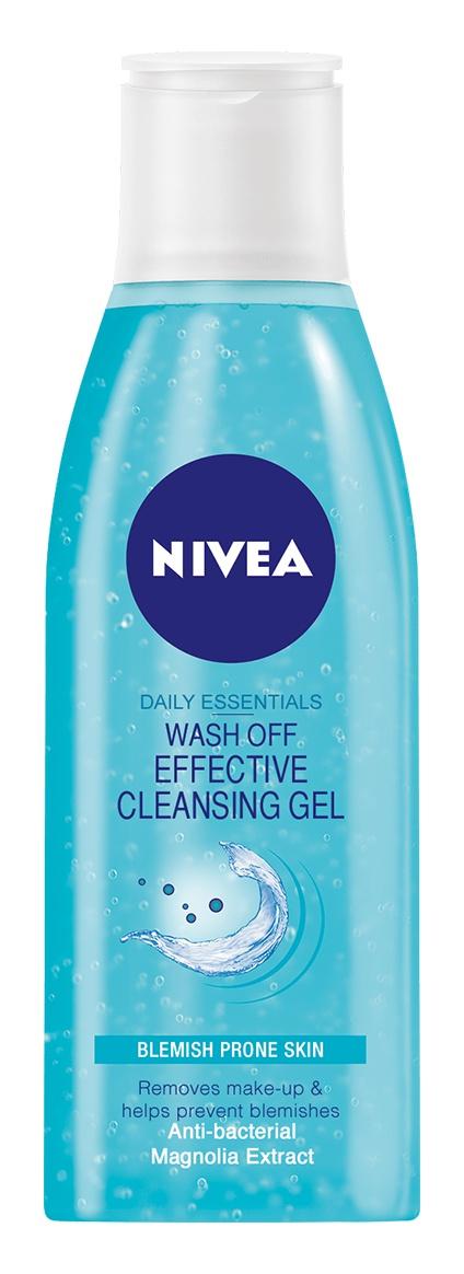 Nivea Wash Off Effective Cleansing Gel