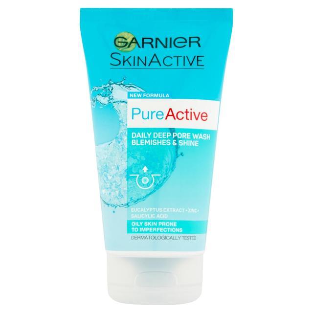 Garnier Pure Active Anti-Blackhead Deep Pore Wash