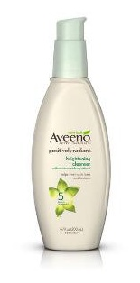 Aveeno Positively Radiant Brightening Cleanser