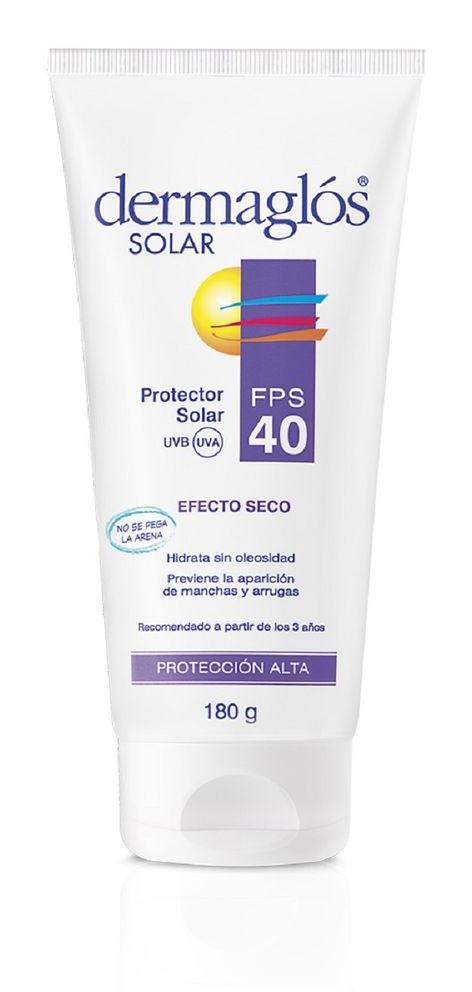 Dermaglós Protector Solar Fps 40 Efecto Seco