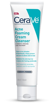 CeraVe Acne Foam Cream Cleanser