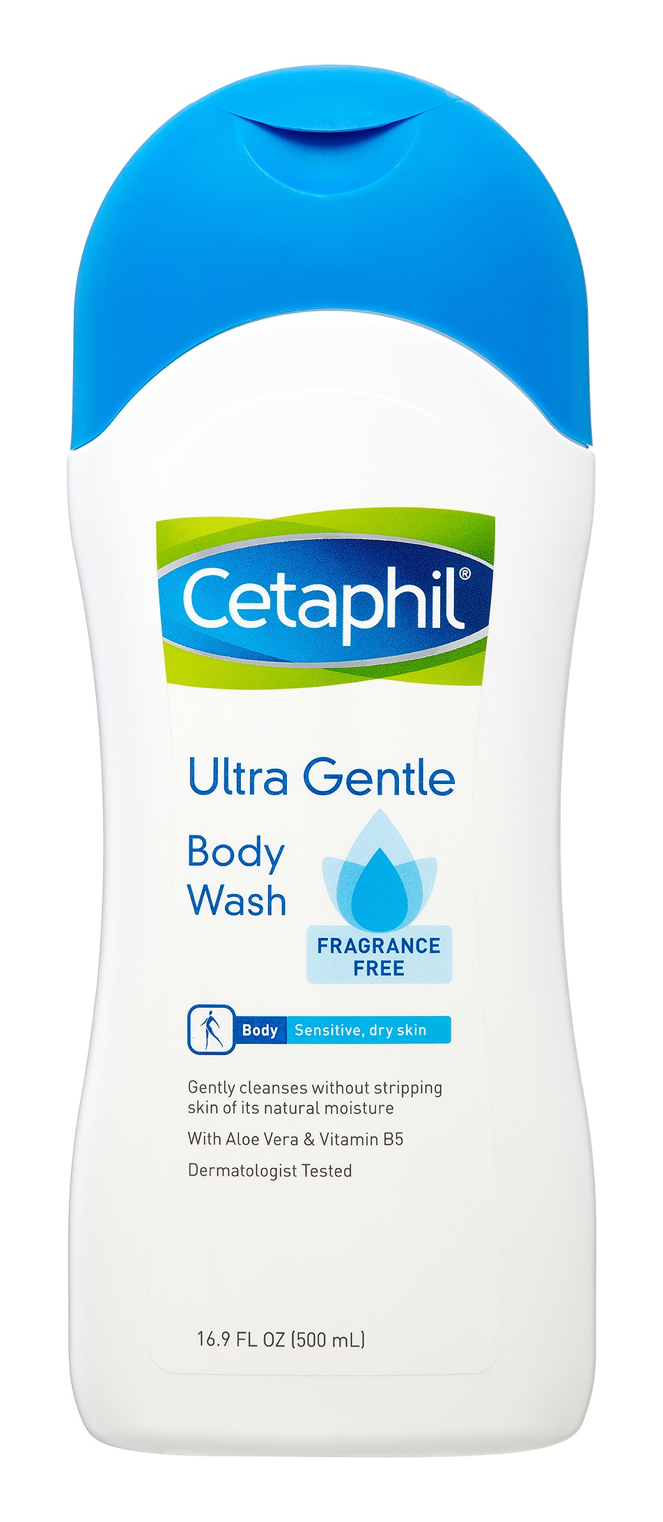 Cetaphil Ultra Gentle Body Wash Fragrance Free