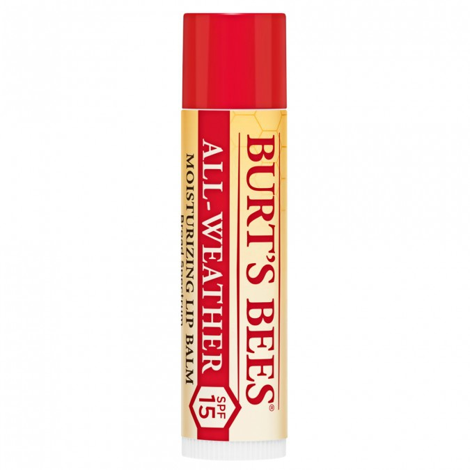 Burt's Bees All-Weather Spf15 Moisturizing Lip Balm