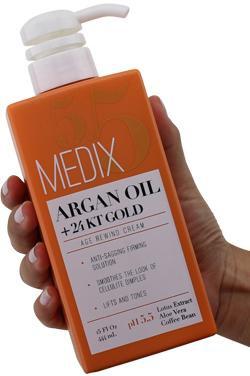 Medix 5.5 Argan Oil Cream With 24Kt Gold.