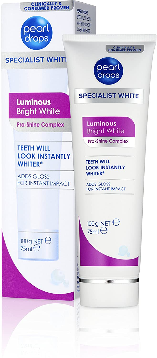 Pearl Drops Luminous Bright White Toothpaste