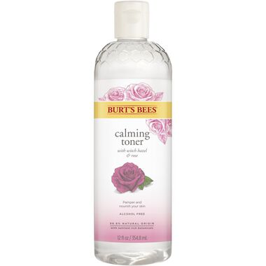 Burt's Bees Calming Toner With Witch Hazel And Rose