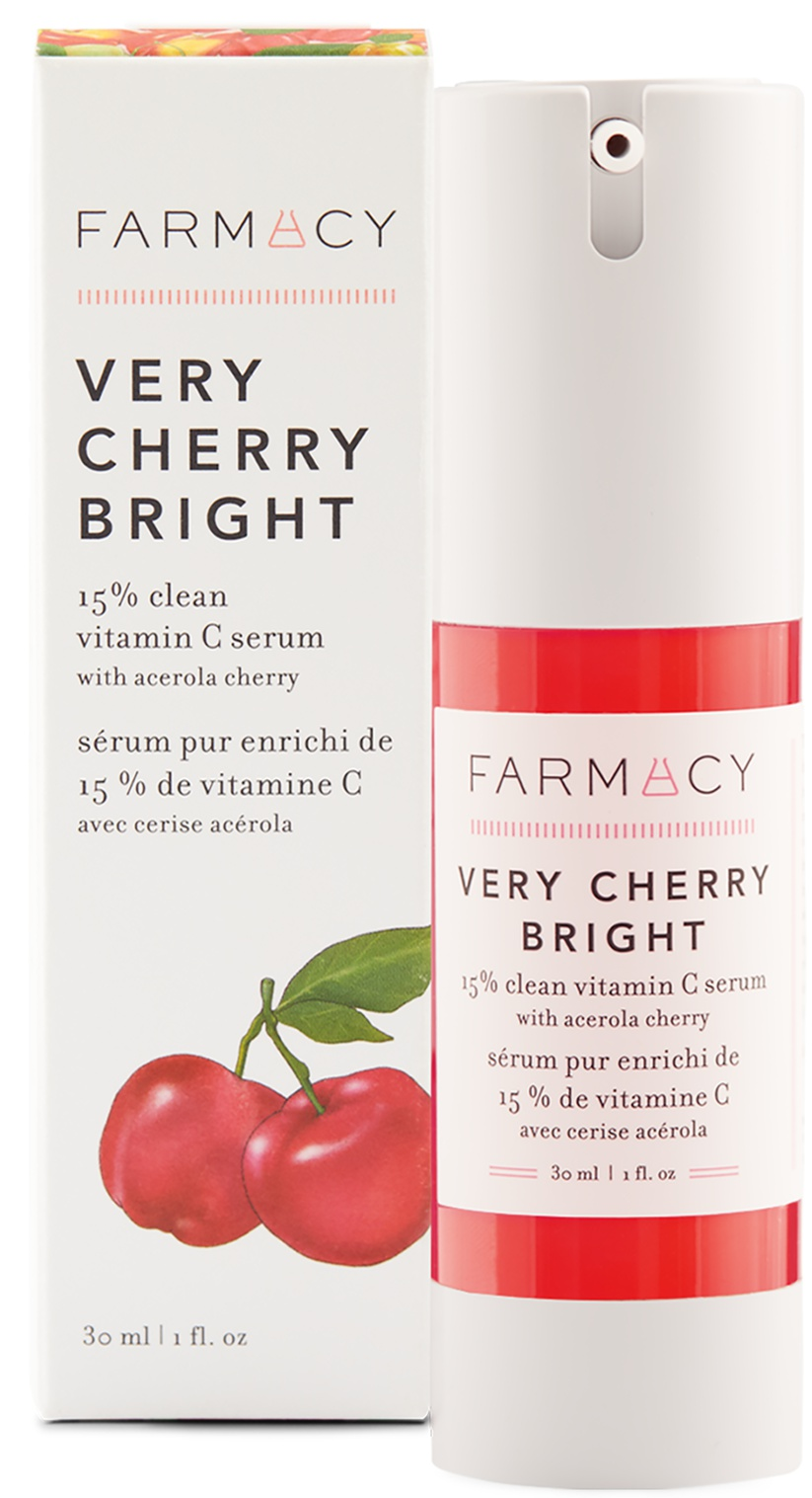 Farmacy Very Cherry Bright 15% Clean Vitamin C Serum With Acerola Cherry