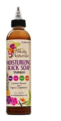 AliKay African Black Soap Shampoo