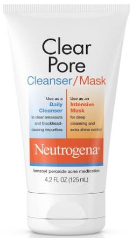 Neutrogena Clear Pore Cleanser/Mask