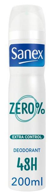 Sanex Zero % Extra Control Antiperspirant Deodorant