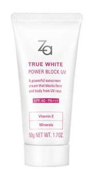 za True White Power Block Uv Spf40 Pa+++