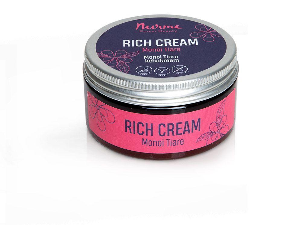 Nurme Rich Cream Monoi Tiare