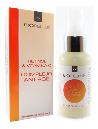 Biobellus Retinol & Vitamina C Complejo Antiage