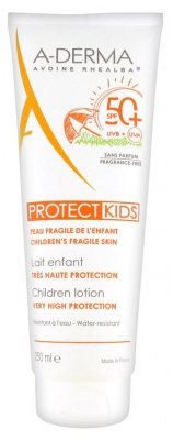 A-Derma Protect Kids Children Lotion Very High Protection Spf 50+
