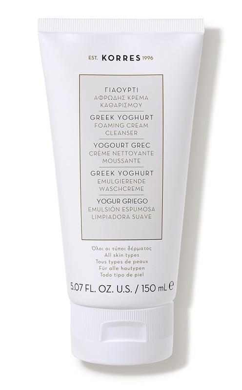 Korres Greek Yoghurt Foaming Cream Cleanser