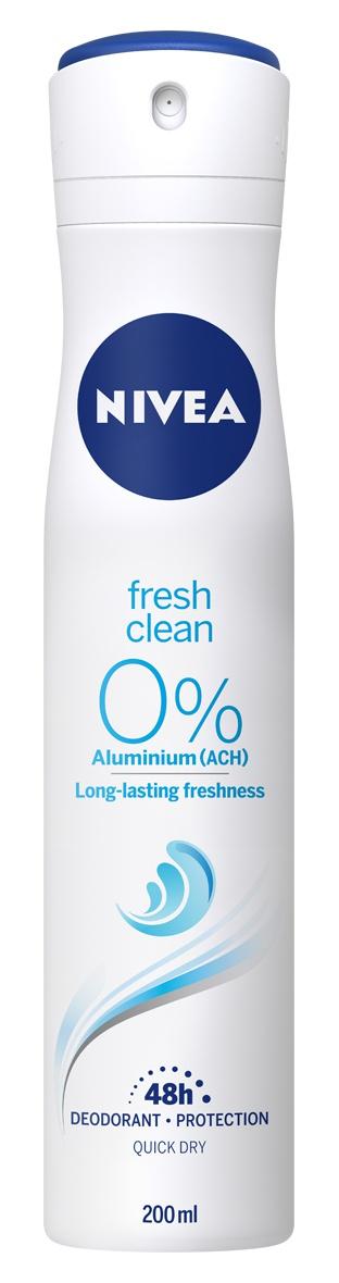 Nivea Fresh Natural 0% Aluminum Deodorant-Protection