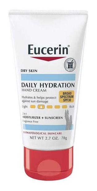 Eucerin Daily Hydration Hand Cream Spf 30