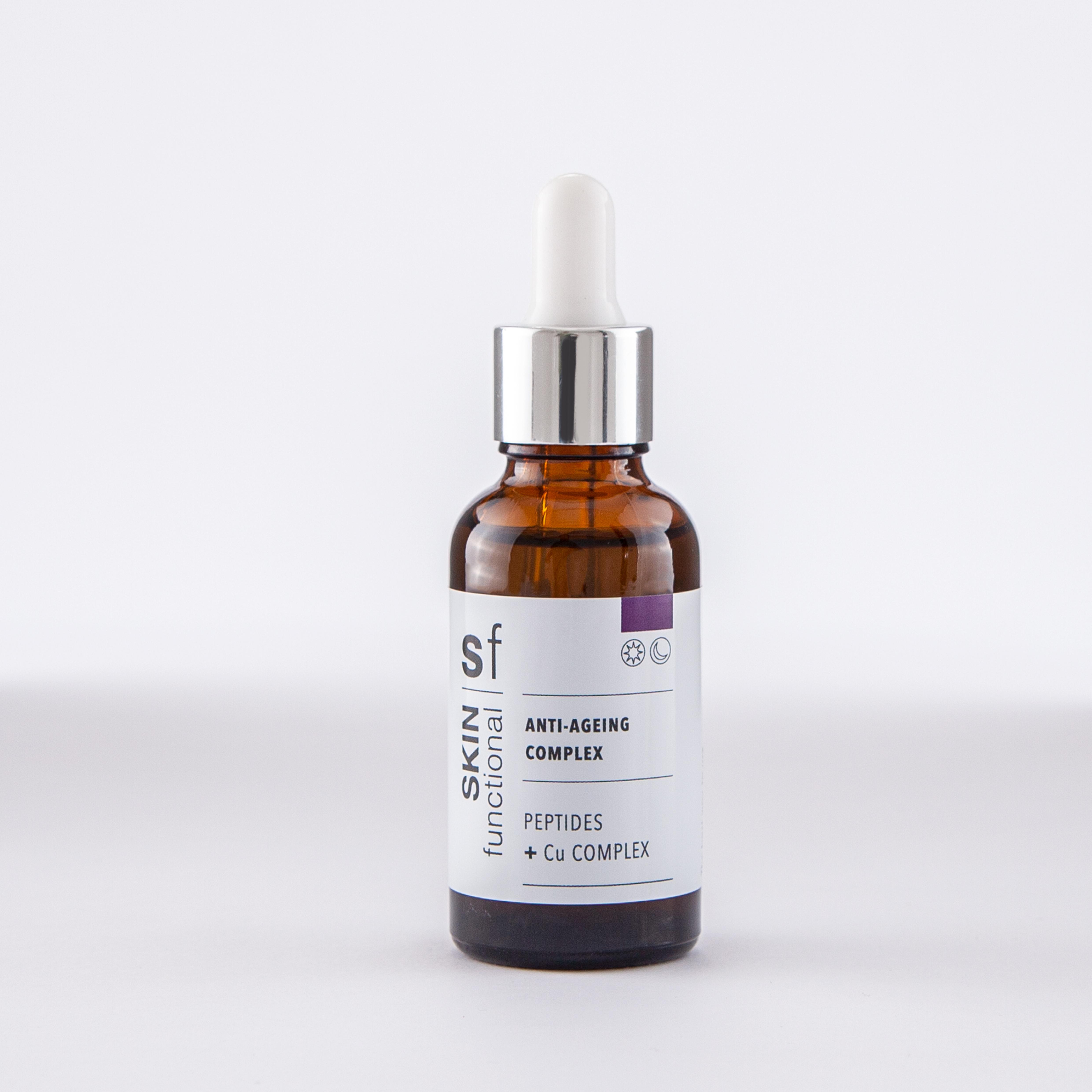 Skin Functional Anti Ageing Complex Peptides + Cu Complex