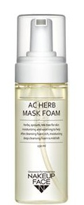 Nakeup Face Ac Herb Mask Foam