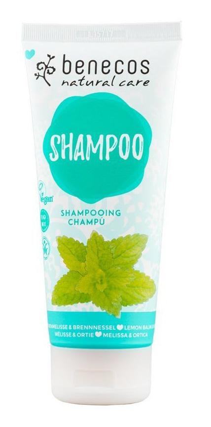 Benecos Melissa & Nettle Natural Shampoo
