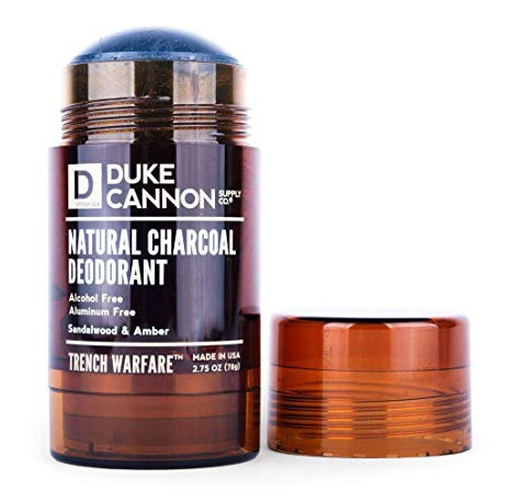 Duke Cannon Natural Charcoal Deodorant (Trench Warfare)