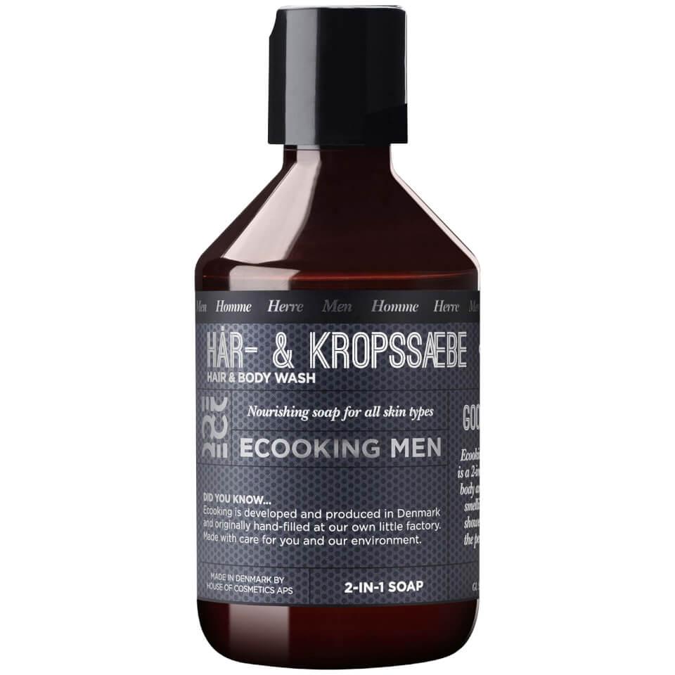 Ecooking Men Hair & Body Wash