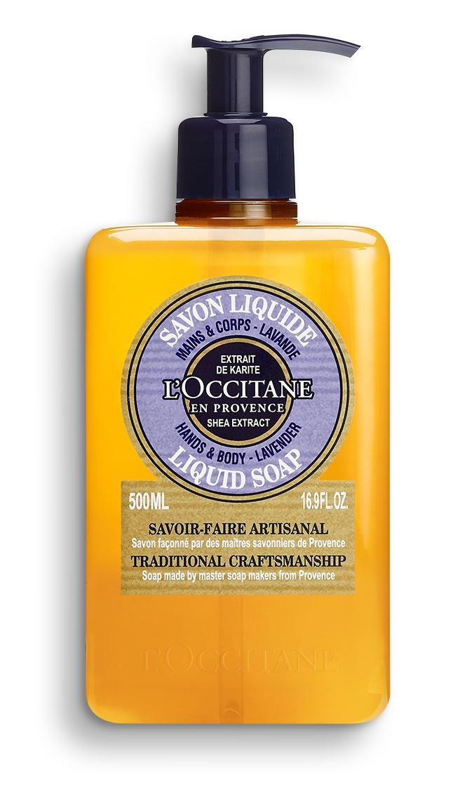 L´Occitane Shea Hands & Body Lavender Liquid Soap