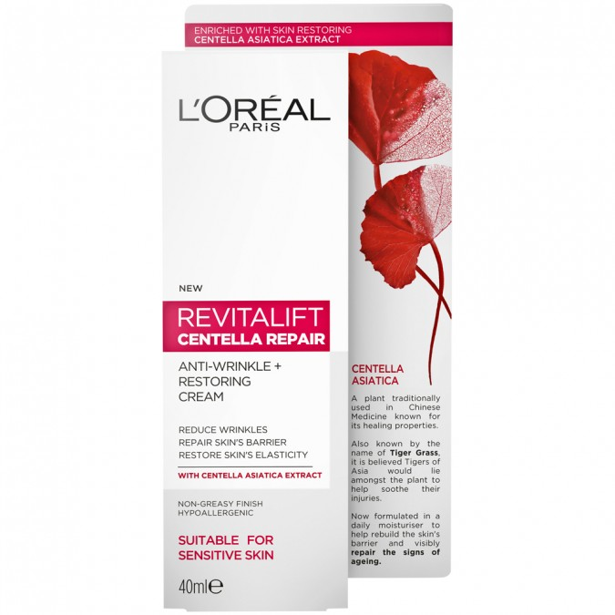 L'Oreal Paris Revitalift Centella Repair Cream