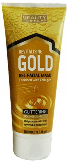 Beauty Formulas Revitalising Gold Facial Mask